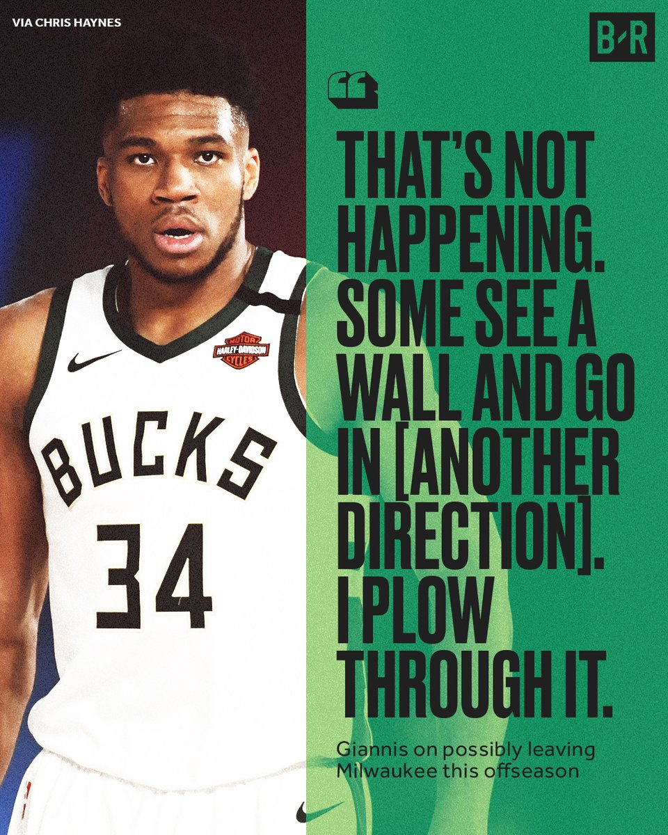 Giannis doesn't plan on going anywhere. https://t.co/n5iaE6bDiD