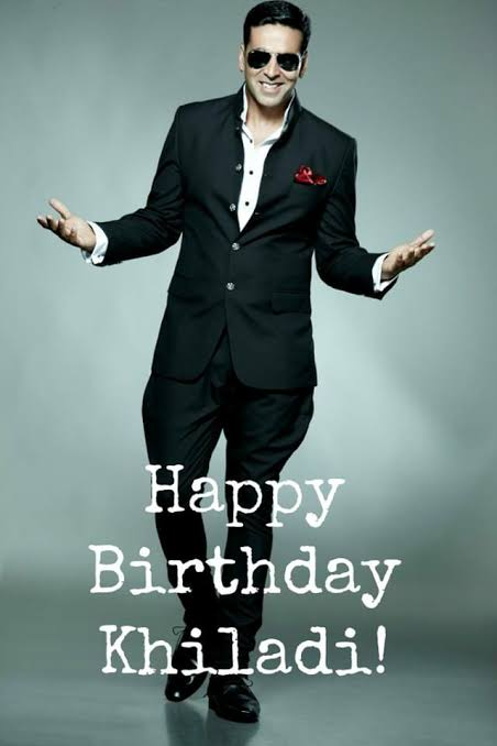 Happy birthday superstar Akshay Kumar .. The real hero of our country