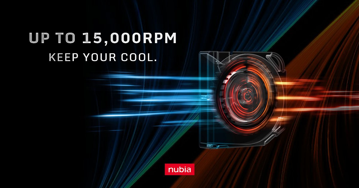 Here's a fun fact for you today.  The built-in turbo fan of the RedMagic 5S can reach speeds of 15,000RPM, while a Boeing 777 turbine engine can only reach 11,000RPM!  Get your RedMagic 5S now: https://t.co/T3wY9qPxn9 https://t.co/caRCinM1za