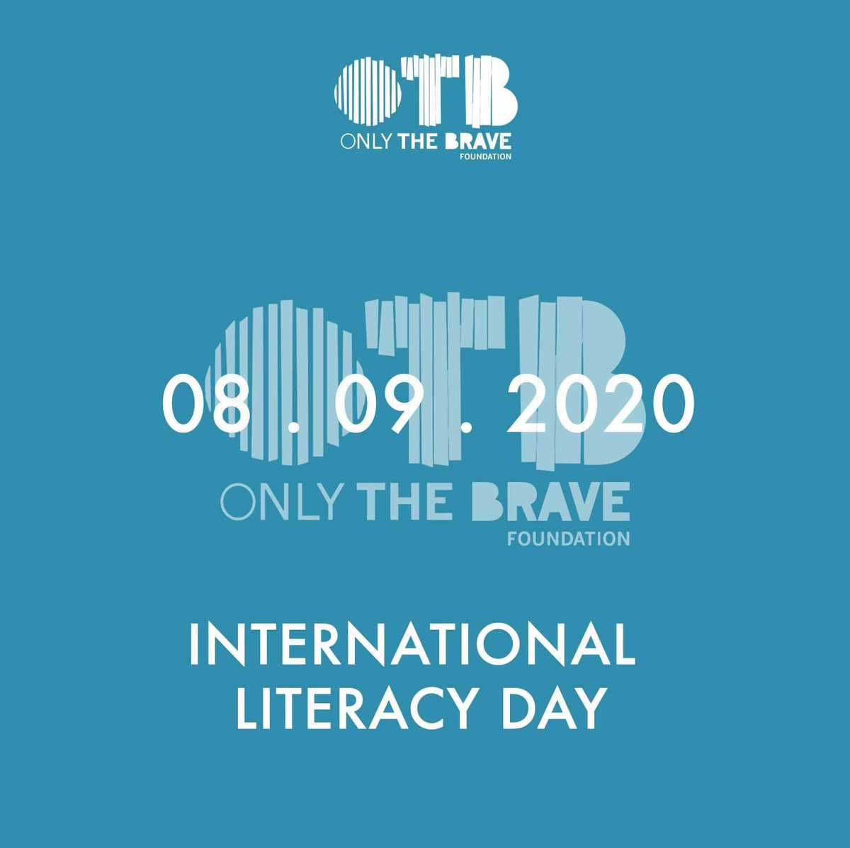 Another important international day, today the @UN all over the world they celebrate #internationaliteracyday . This day was established in an attempt to remember the value of education which must be of quality for everyone. #OtbFoundation #BraveActionsForABetterWorld https://t.co/GWkGADrKqq