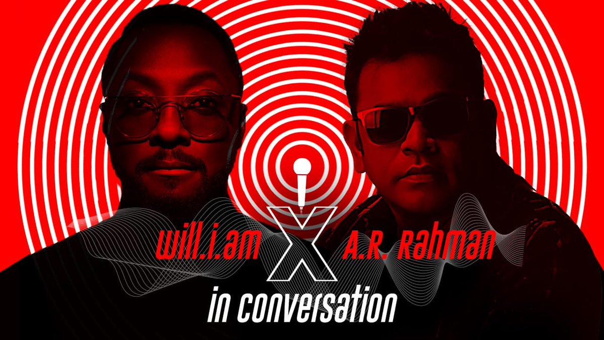 The great @arrahman & @iamwill in a conversation about music, creativity and future collaboration! Click here to watch the full convo👇🏻 🔗 https://t.co/WbcvAUVh4h https://t.co/Vno8CjP1Ma