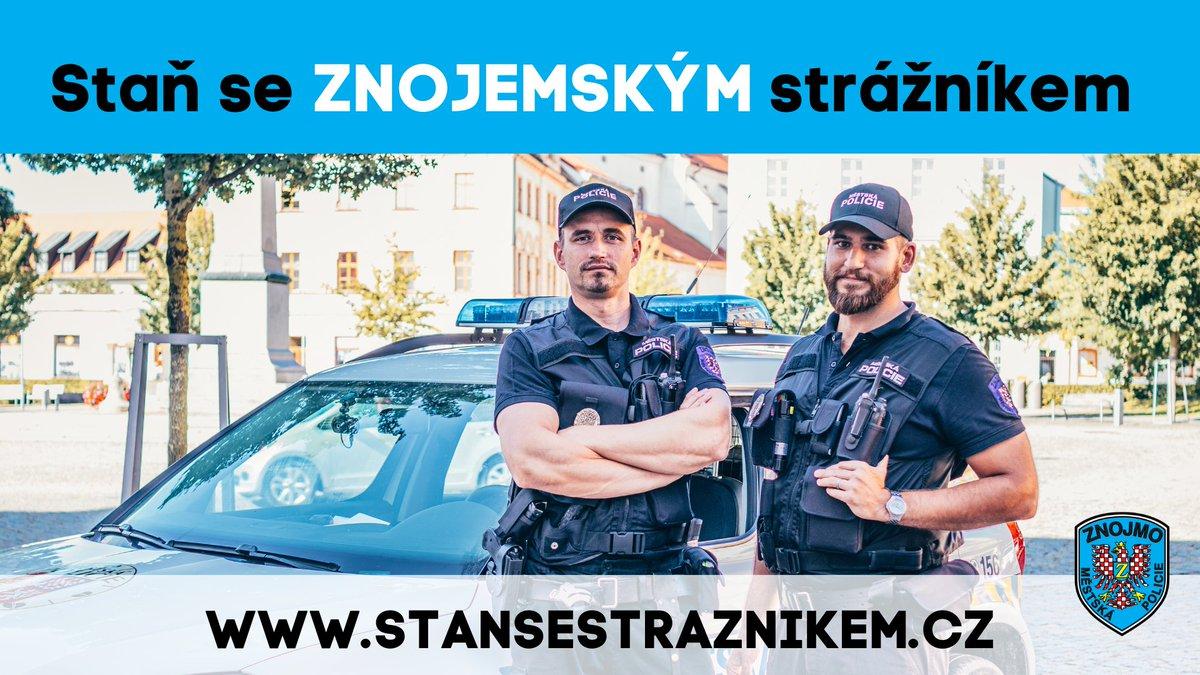 Městská policie Znojmo hledá nové posily do svých řad 👮♀️👮 Detailní info 👉 https://t.co/ROaM2uzPCm #mestskapolicie #znojmo https://t.co/OR9knSoo5r