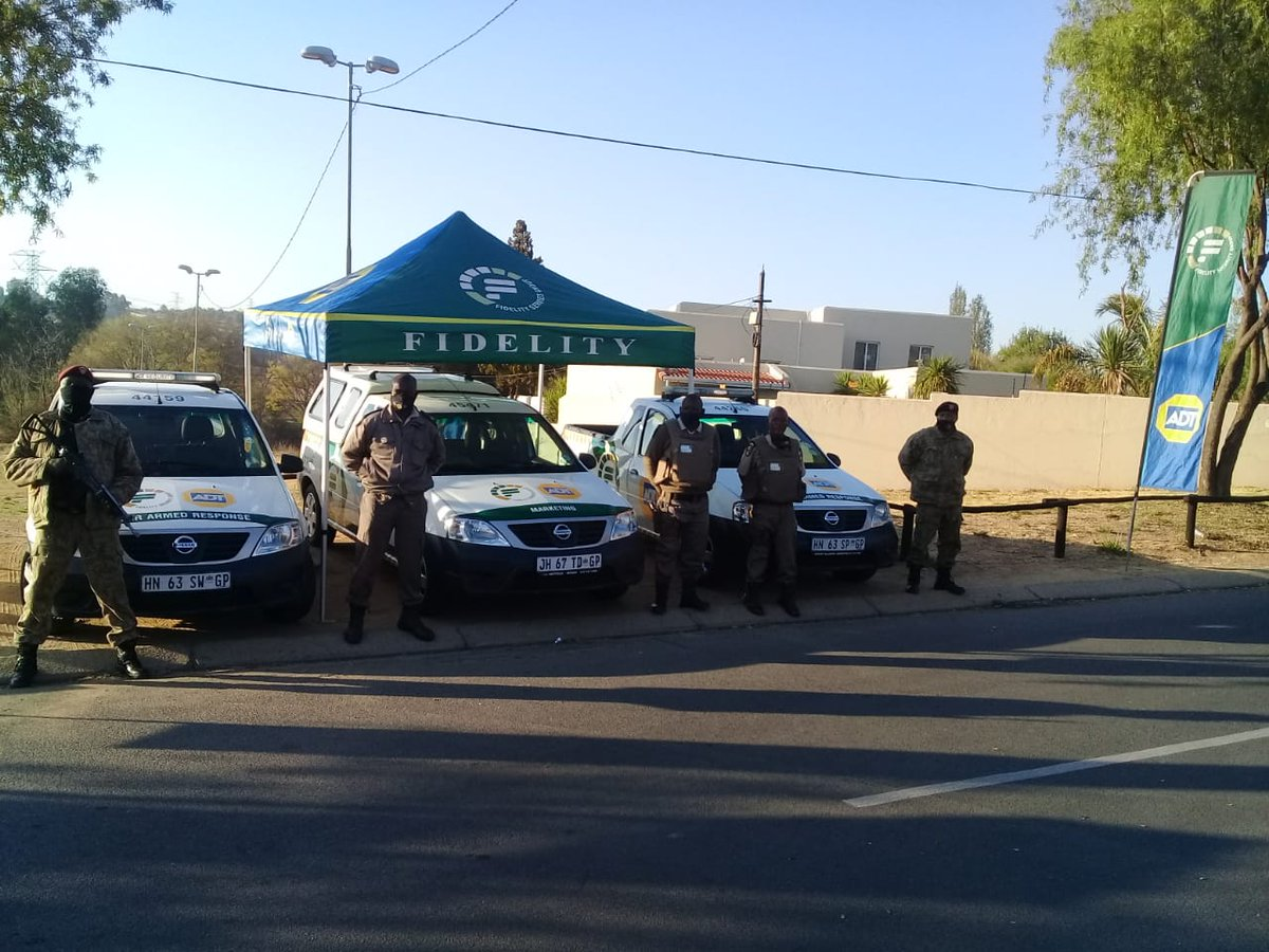 Fidelity Specialised Intervention Units showing visibility in Lonehill.  #FidelityADT #FidelitySpecialisedInterventionUnits #Lonehill #Keepingyousafe #Securingyourassets https://t.co/o2Fr2gxKLO