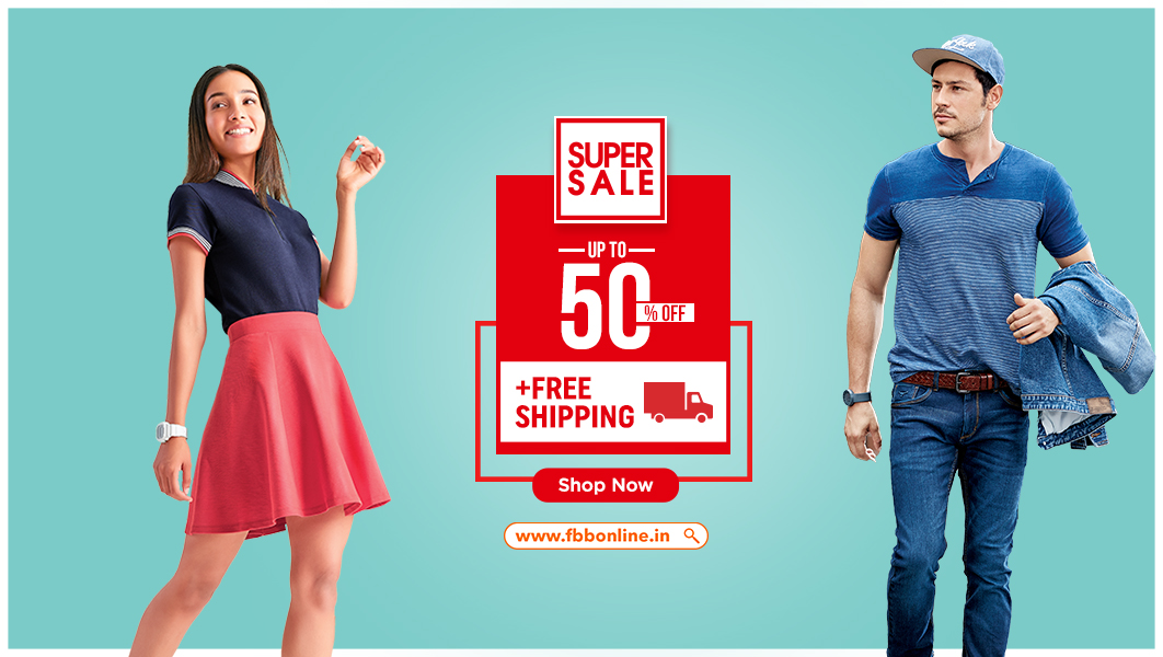 Attractive offers you all this entire month with #SuperSale only on https://t.co/QGuGR7ZRna. Avail FREE SHIPPING for the next two days on all your favorite styles. Shop Now: https://t.co/zCiZesYwJg T&C apply. https://t.co/bDflO37MMo