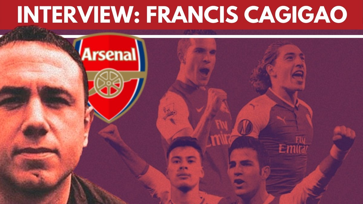 From winning the FA Youth Cup for #Arsenal to becoming Wenger's go-to scout, Francis Cagigao's career has some fascinating stories.   He spoke to me this week after his 20+ year association with Arsenal ended.  📺:  🎧: