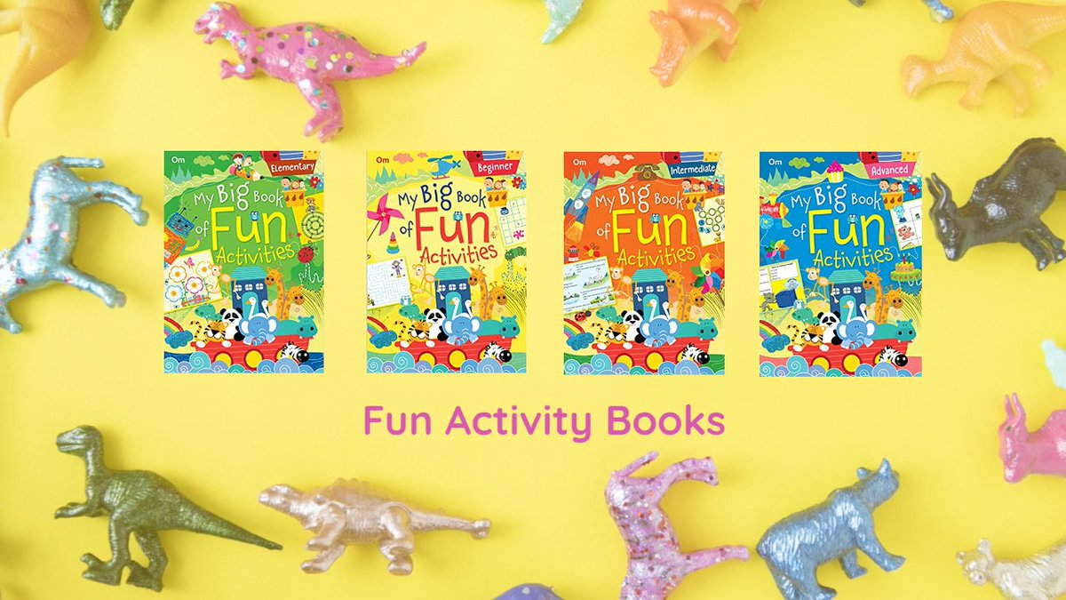 A must-have, this delightful book sharpens your skills in subjects like mental Maths, grammar, creative writing and Science. The activities with vibrant images provide learning moments that leave you asking for more!  Online Store- https://t.co/Q6Hl8FACQp https://t.co/rPvSooaDuQ