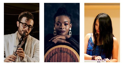 Join us for the final @makingtracks 2020 collaboration - a trio piece between Lemon Guo (China), Daniel Gouly (UK) and Tendai Mavengeni (Zimbabwe)!  Tune in to watch live on our @StablesMK Facebook page from 7pm tonight.. https://t.co/gmMYIrkbOJ https://t.co/WzJVbMK2dC