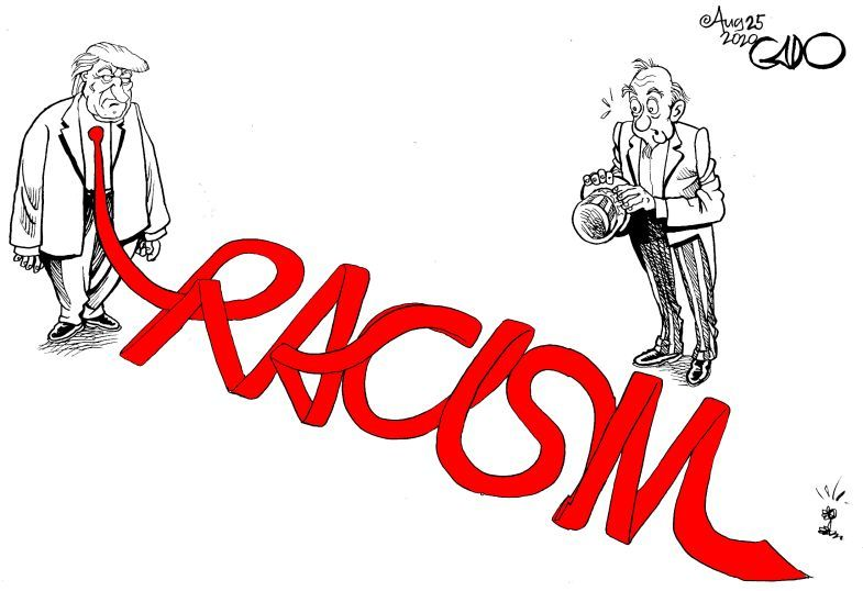Trump and Racism in America - Gado https://t.co/AJMcD3AHUP https://t.co/M70USy1CYG