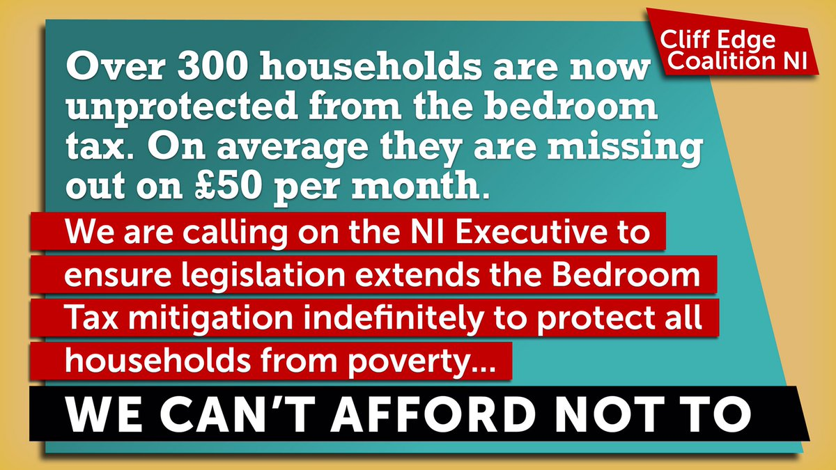 The COVID-19 pandemic has required us all to work and learn remotely. @NIFHA wants to see the Bedroom Tax ended in NI so that everyone can continue to have the ability to do this @CaralNiChuilin #cliffedgeni @NIFHAPatrick https://t.co/6DK7BlapGj