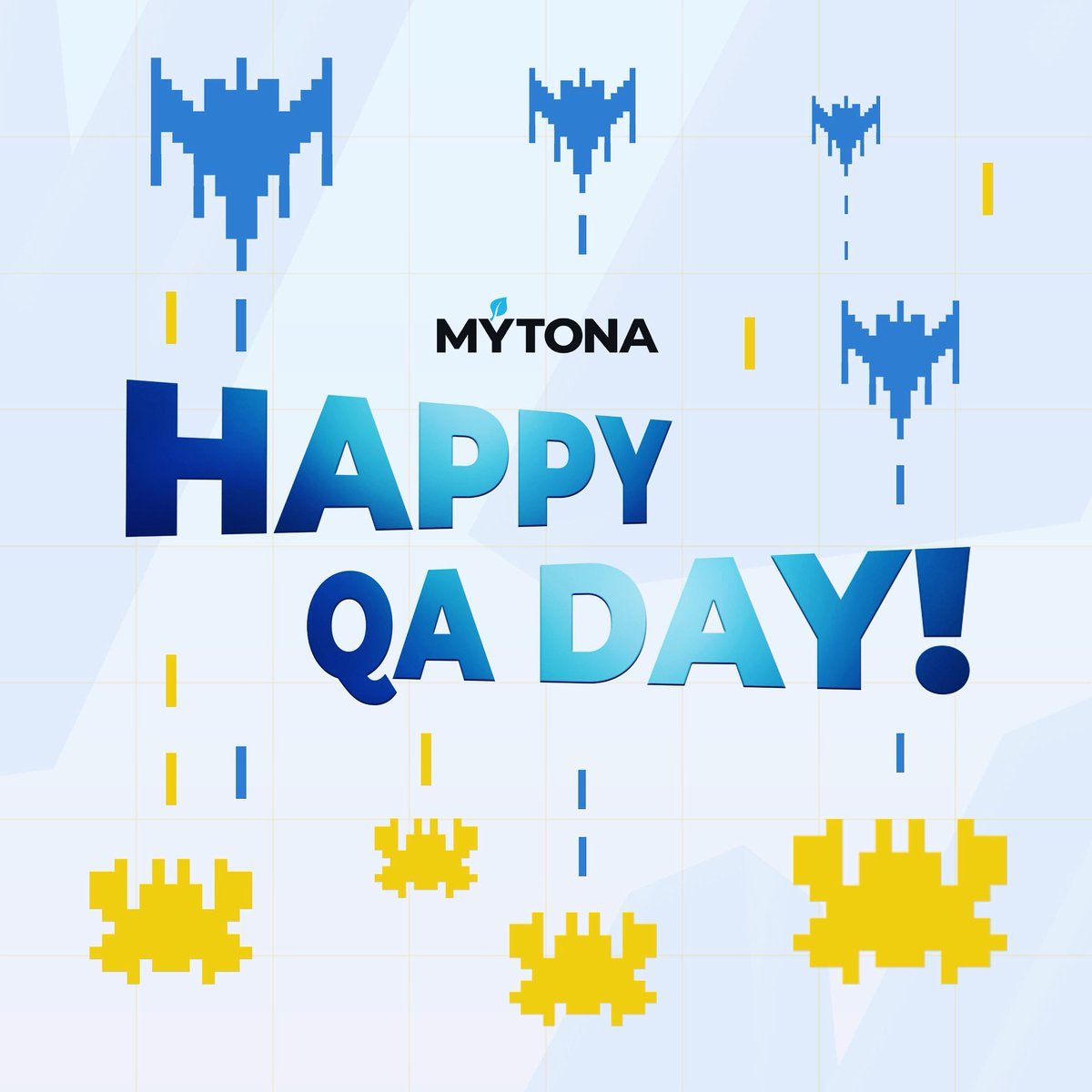 We congratulate all QA-specialist (also known as testers)—our invisible superheroes—on their professional holiday!🥳 May bugs be found quickly and easily, may your tasks get instantly completed, and may players admire the quality of the projects you're testing!💪🏼 #mytona #QA https://t.co/01FTIndEGv