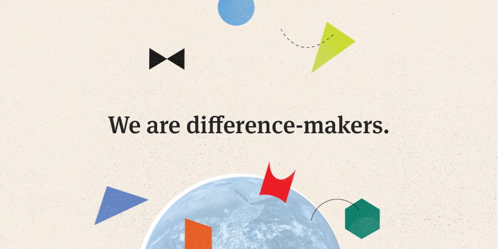 At Herman Miller Group, being a difference-maker means creating places that matter, being a good neighbor in our communities, and using business as a force for good. It's one of our three Group Values. Check back soon for the others. https://t.co/Qb4ektJvO4