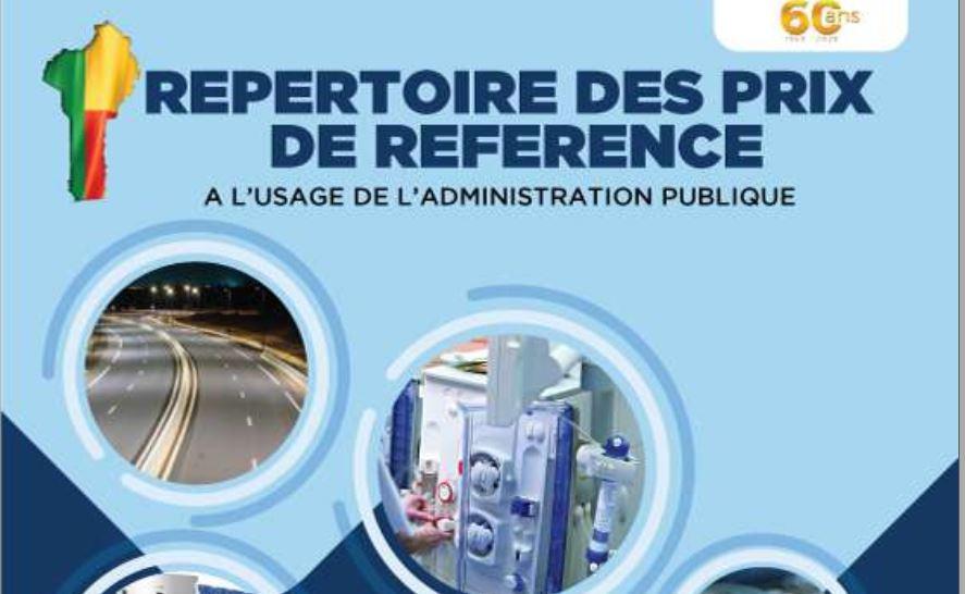 La 14 ème édition du répertoire des prix de référence à l'usage de l'Administration Publique est disponible en ligne et consultable 👉https://t.co/Bfhsx8xJhL  Il recense 9759 articles répartis en 17 catégories de biens et services.  #RepertoireDesPrix #BeninNumerique https://t.co/EB1Q1u029M