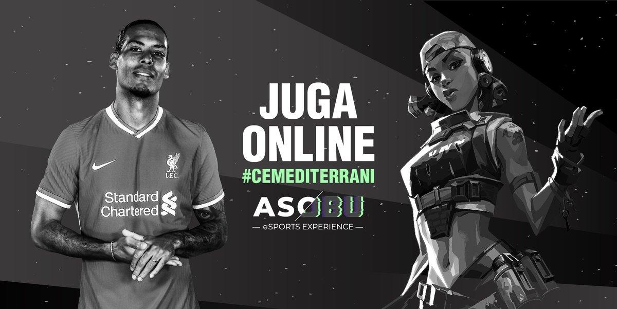 Juga online amb el @CEMediterrani   El #CEMediterrani vol promoure els #eSports com una nova acció social del Club.  FIFA20, F12020, VALORANT i COUNTER STRIKE seran els videojocs a l'abast dels nostres socis.  I comptarem amb la gestió  d' @asobu_esports  https://t.co/OqpycNFWPU https://t.co/TqIotdYt2k
