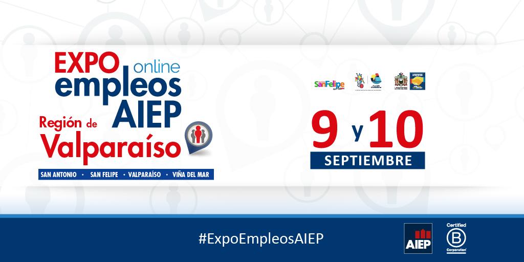 💻 Mil vacantes laborales ofrece en Viña del Mar la 1ª Expo Empleos AIEP versión on line https://t.co/C1mKn0Sy8s https://t.co/unMmcByHFB