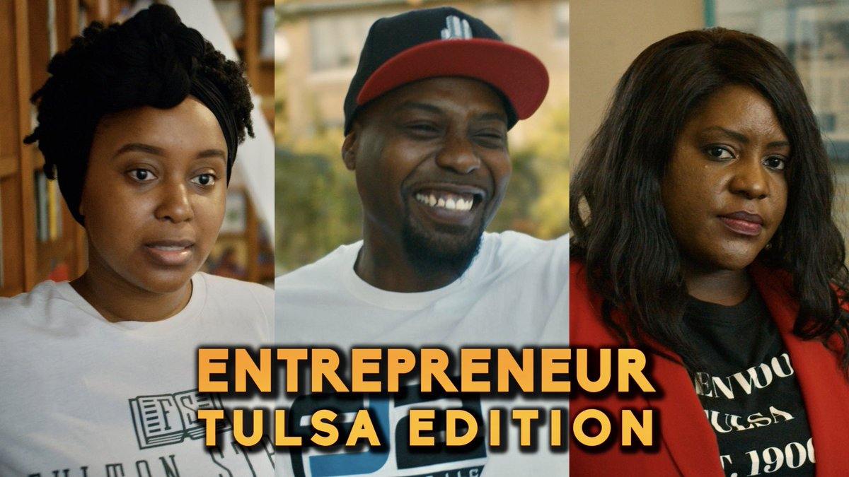 Went to Tulsa for a day and connected with the strong entrepreneurial spirit that still resonates. Definitely life changing. Inspired by @Pharrell and @CALMATIC Watch it here: youtu.be/LfEEmJaMWao