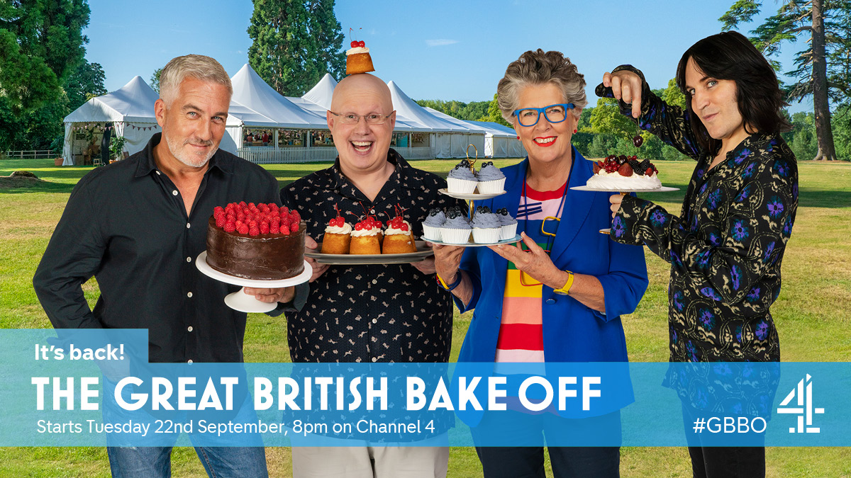 🚨It's back! The Great British Bake Off confirmed to start on Channel 4 later this month🎉🎂🍰 #GBBO https://t.co/uOEjz8x5Lf