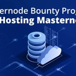 Image for the Tweet beginning: Masternode Bounty Program for Hosting