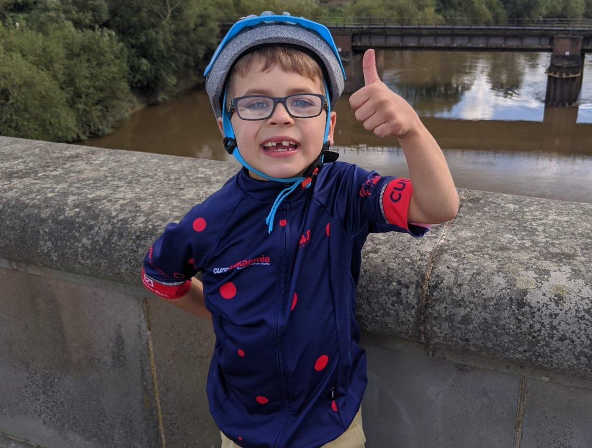 🙌 LIFESAVERS 🙌  What a little hero! Harry Boote has, so far, raised a brilliant £2⃣,1⃣5⃣5⃣ for Cure Leukaemia in memory of his 'Gramps' who sadly passed away from #AML this year.  You can support him here 👉 https://t.co/myuJWlWk7l   #CLLifesavers100Club #BCAM #CLFamily https://t.co/bmebsQYYeO
