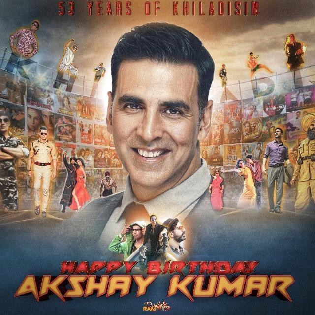Happy birthday Akshay Kumar guru ji