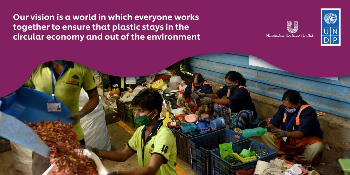 Today marked a virtual event that reinforces & strengthens our #wastemanagement efforts alongside @UNDP_India & @mybmc. Together we aim to continue & enhance end-to-end #plasticwaste recovery, promoting wellbeing & inclusion of #SafaiSathis #SustLiving https://t.co/6crHGU4Fe7 https://t.co/no6kbNXp7p