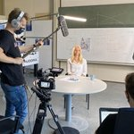 Image for the Tweet beginning: … and Action! 🎬Our students