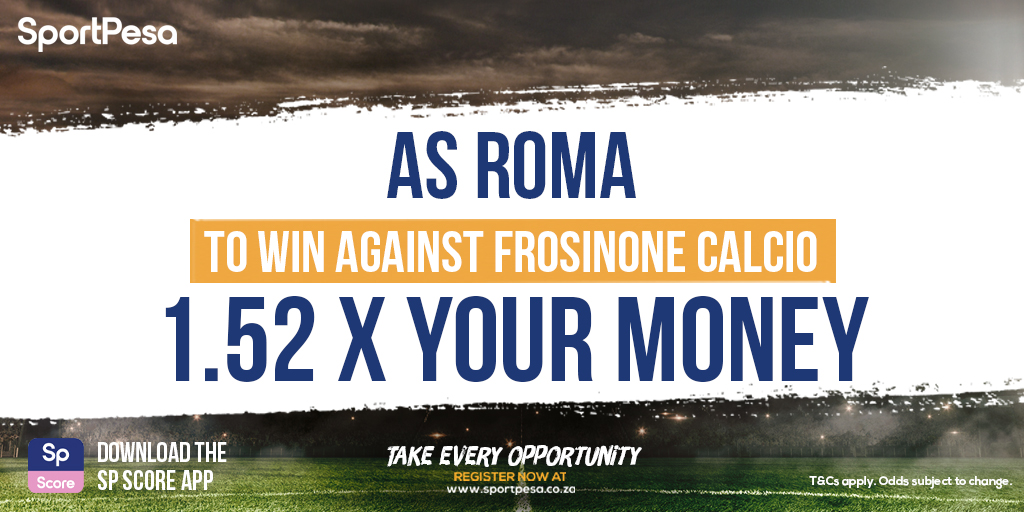 It's Frosinone Calcio v AS Roma in today's #internationalfriendly action! ⚽️ Get 1.52 x your money with a play on AS Roma to win ➡️ https://t.co/02W0kHmgpq https://t.co/Fj1VE7Rzu2