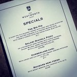 Image for the Tweet beginning: Our Specials Board returns today