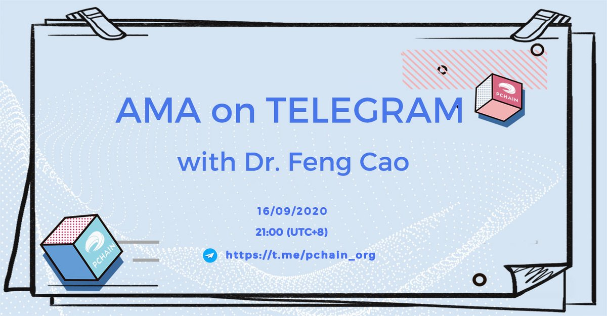 #PCHAIN #AMA with @jeff_fengcao will start in 1 hour. Feel free to join us https://t.co/pse0eu6gS9 , and get your questions ready now.