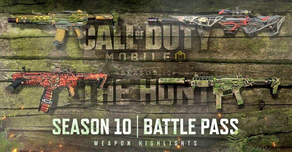Call of Duty Mobile Battle Pass Skin Season 10.