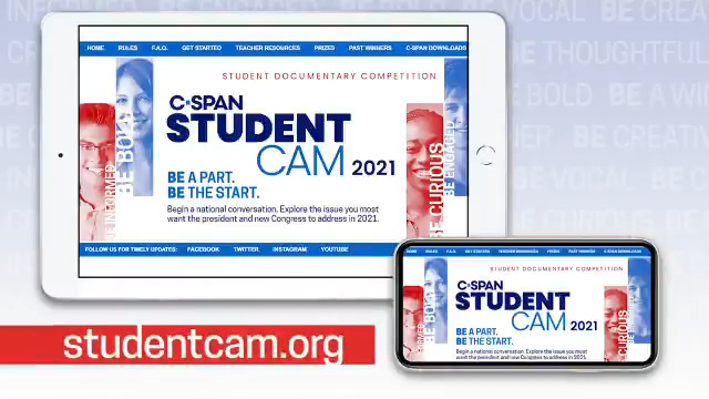 If you are looking for a project-based learning assignment to use in your classes or an enrichment activity for your students, check out C-SPAN's StudentCam documentary competition. Visit https://t.co/wzK92ayqFX to learn more. https://t.co/0gfM1irhsZ
