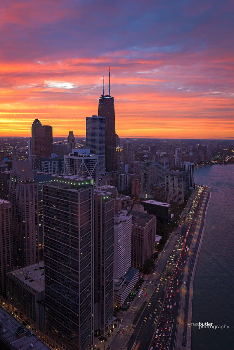 September Sunsets, Chicago https://t.co/IpA9NCe1F9