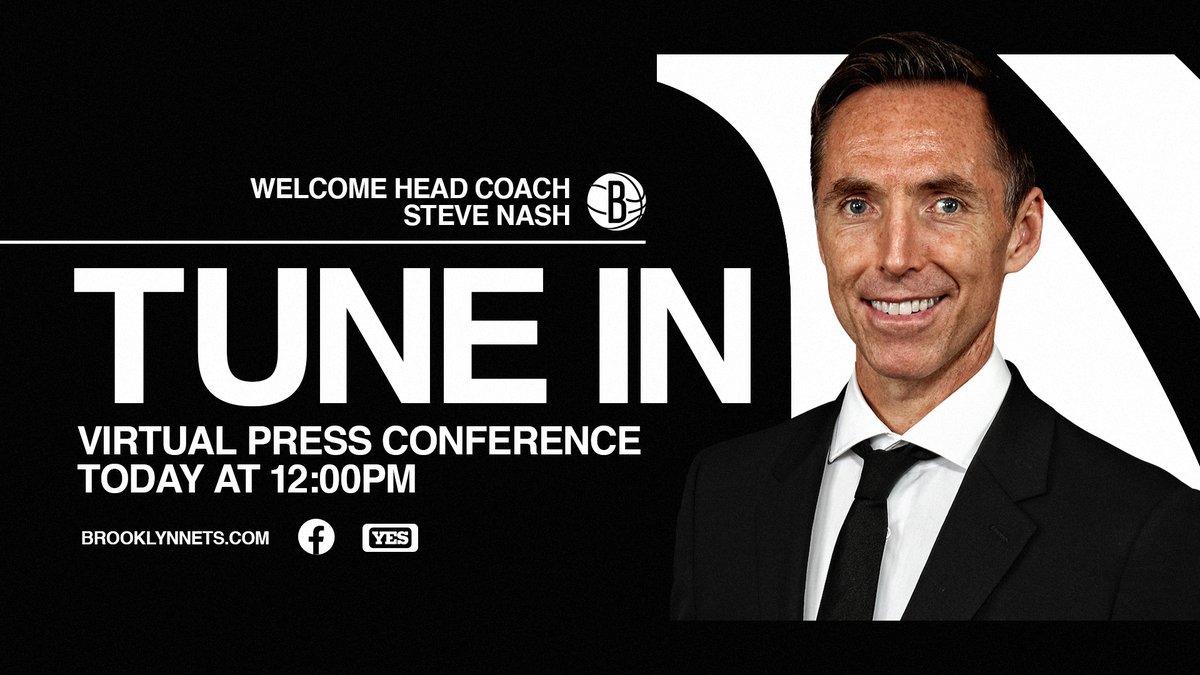🚨 Press Conference Day! 🚨  🕛 Noon ET 💻 https://t.co/5rBsKOLsJA 📱 https://t.co/M2iEf4Glwd 📺 @YESNetwork https://t.co/ZAqNa89YsM