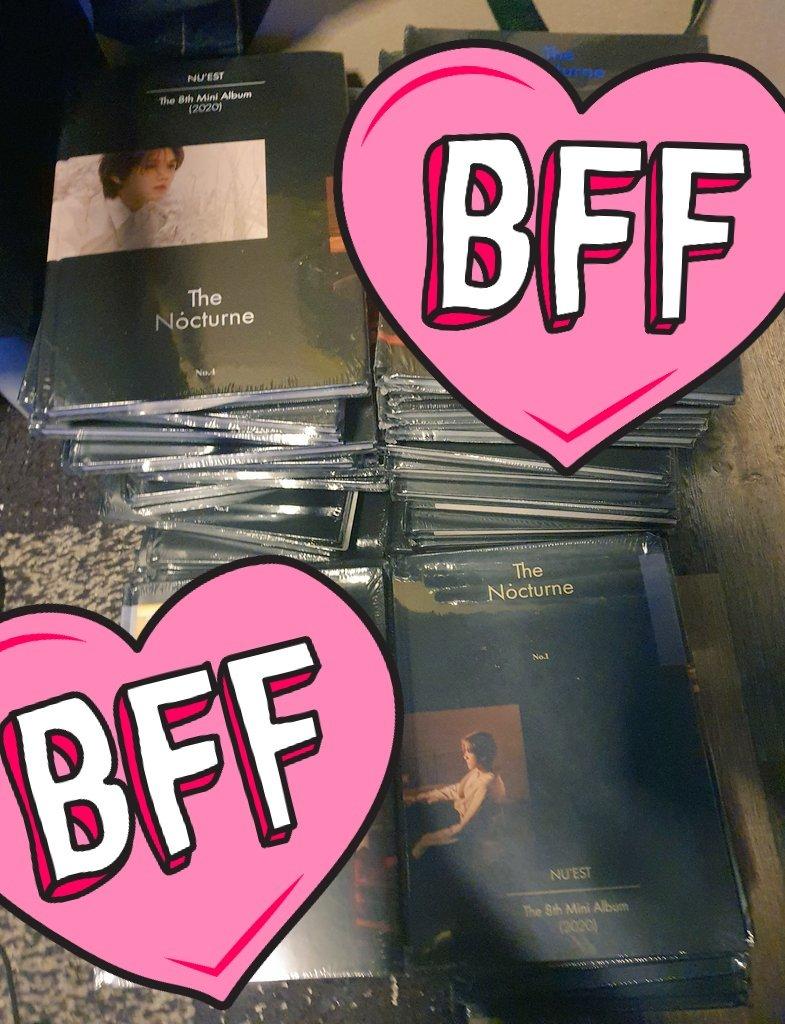 บั้มนิวอีสพร้องส่ง #The_Nocturne สั่งซื้อทางเมนชั่น(ปิดdmอยู่)  ~บั้มแบบไม่แกะซีล ~เหลือ ver.1 กับ ver.4  ~ไม่ได้ special card ~บั้มละ 300 ~ค่าส่ง 50฿ / บั้มต่อไป +15฿ ต่อบั้ม  #แผงลอยเลิฟ #뉴이스트  ~โปสเตอร์ใบละ 90 ~ส่งแบบกระบอก 1-4ใบ 60฿ / 5-8ใบ 100฿ https://t.co/g1QepoaNZz