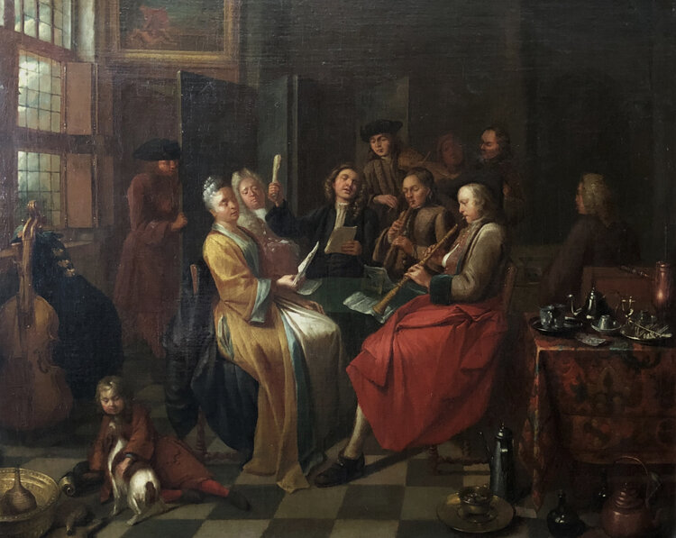 """A new ZMA Puzzler is now available online! Today's puzzle is """"The Concert"""" by Cornelis Troost. Solve the puzzle online here, https://t.co/X5SG765Uzl #MuseumFromHome #MuseumsUnlocked https://t.co/eJkMYOAchH"""