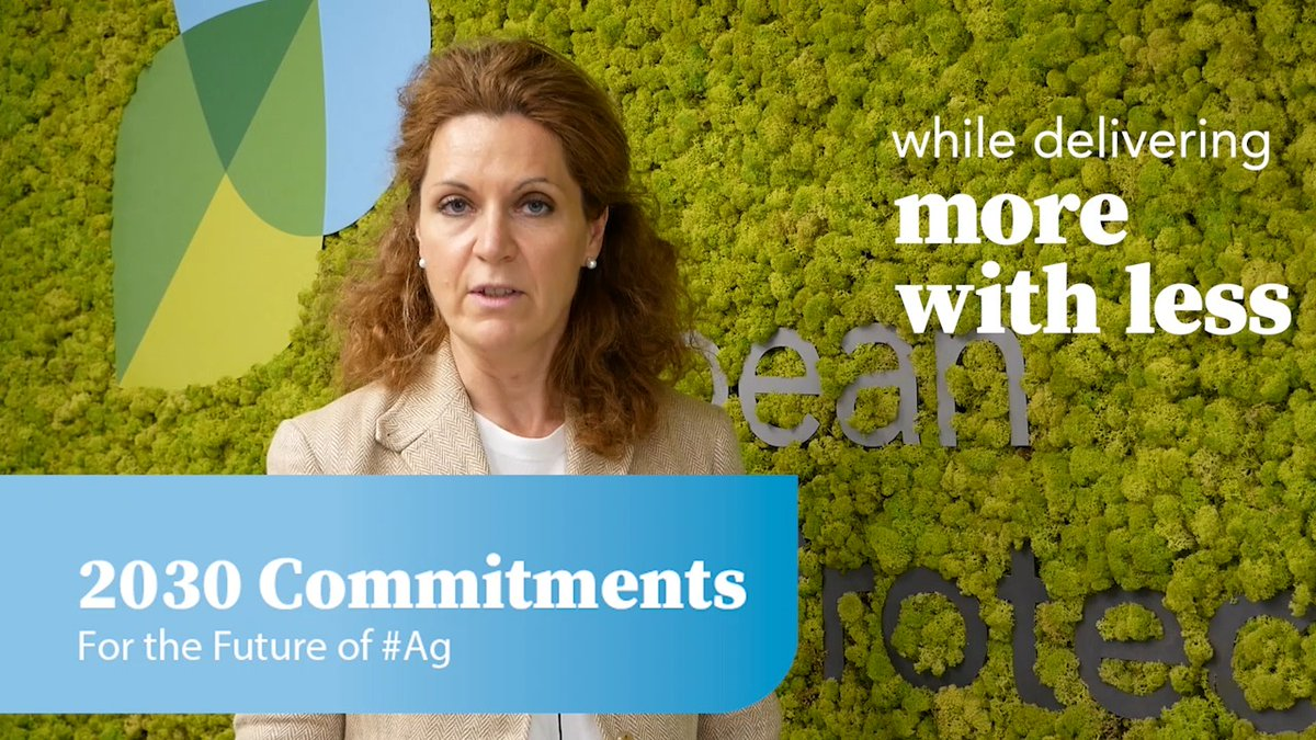 We're thrilled to be announcing our new set of #2030Commitments for the future of #ag. ECPA Director General Géraldine Kutas explains how the crop protection industry supports the goals of the #EUGreenDeal: 🎦 #pesticides #biopesticides #MoreWithLess https://t.co/jPgVGPHb42 https://t.co/Kh8UfXpnUV