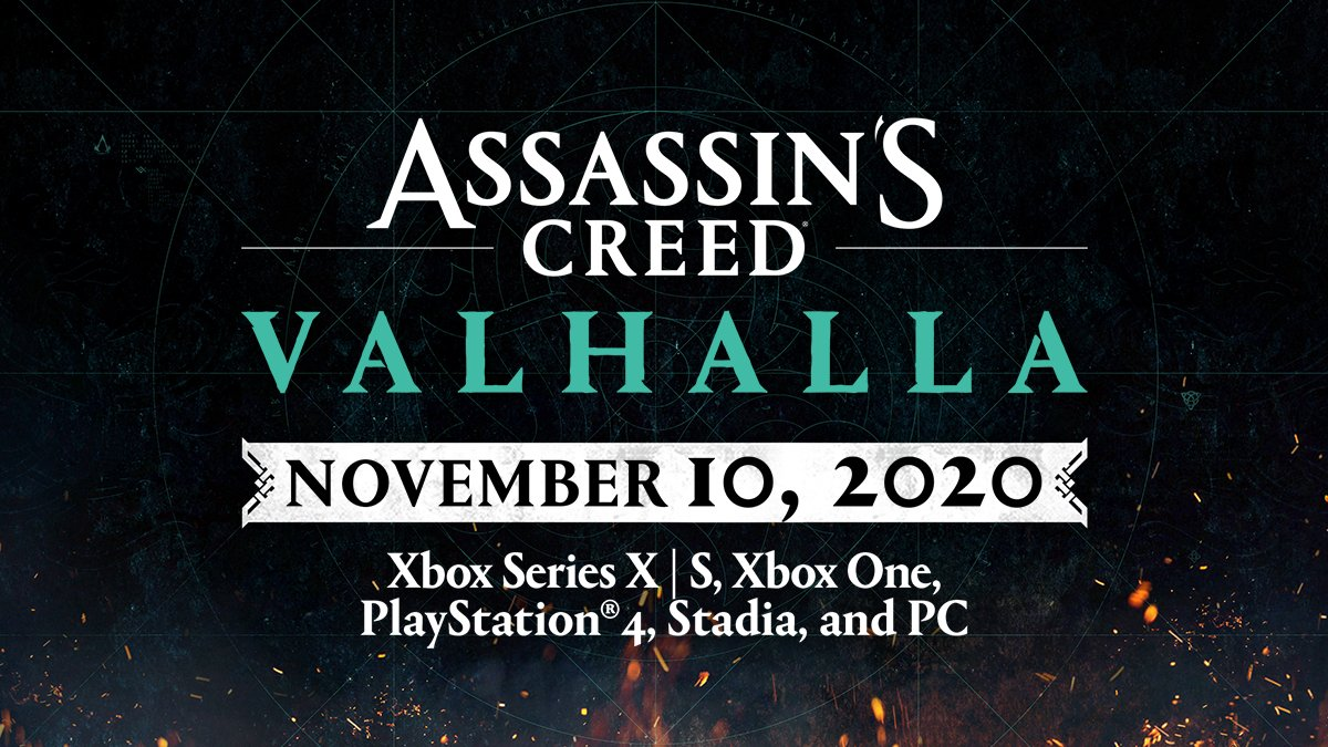 Assassin S Creed On Twitter Assassin S Creed Valhalla Launches With Xbox Series X S On November 10 2020 Build The Legend Of A Viking Raider On Any Console Upgrade From Xbox One