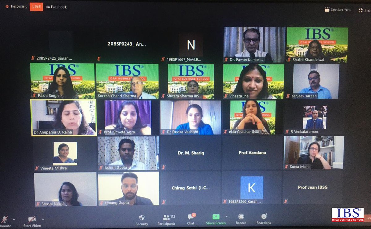 IBS hosted an event on Teacher's day on 5th September. SIP Brochure was also launched by chief guest Prof.Pawan Kumar Singh (Director #MDIGurgaon)  #HappyTeachersDay #TeacherAppreciationWeek #TeachersDay2020 #IBSGurgaon #IBSGurgaon #IBSAT #ICFAI #IBSIndia #ICFAIBusinessSchool https://t.co/zU6LavM7Wi