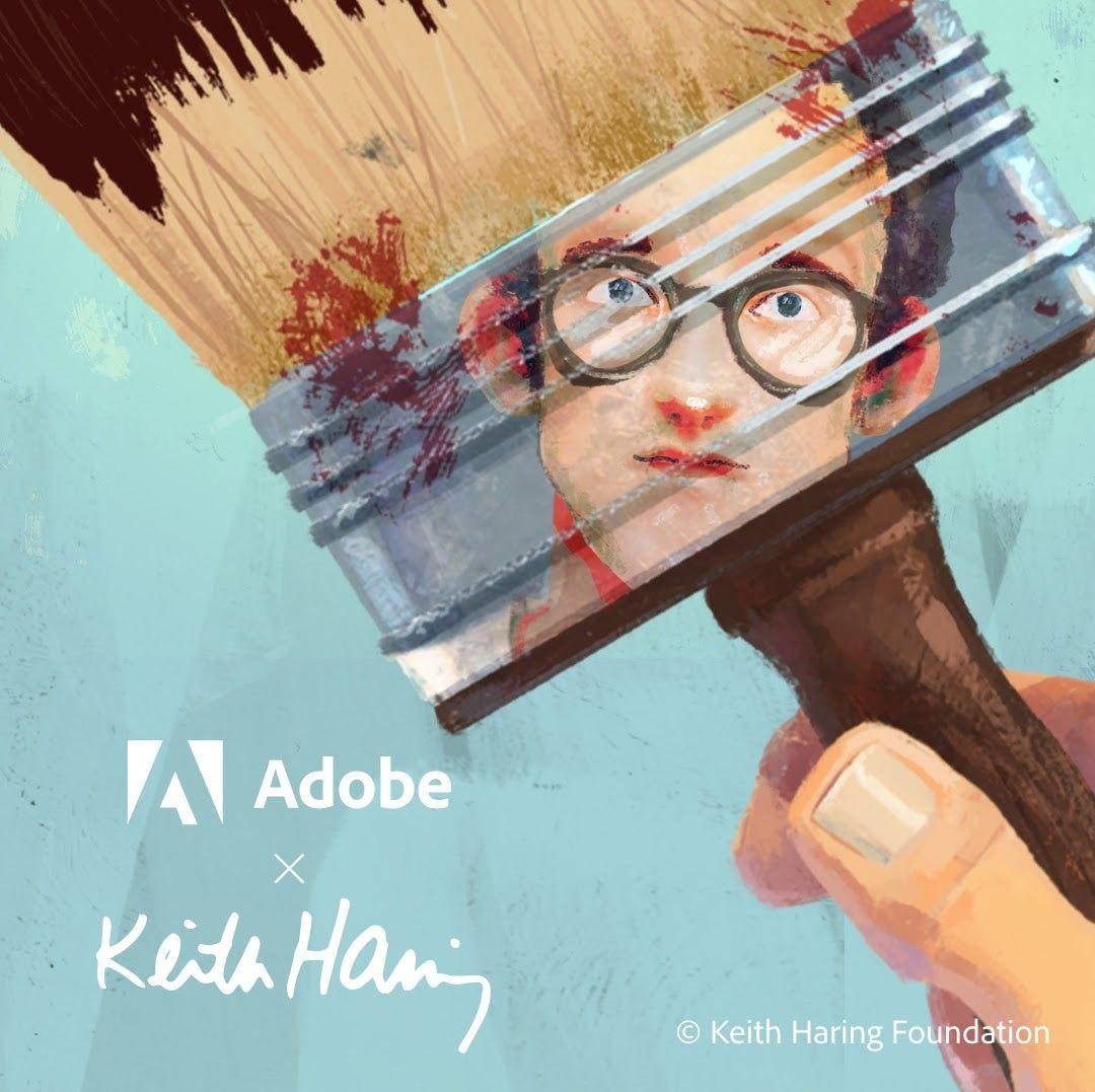 キース・ヘリングにインスパイアされた無料のブラシが #Fresco と #Photoshopで 使用可能に! https://t.co/P4ilGrLUa9 https://t.co/4qHXlkLpOH