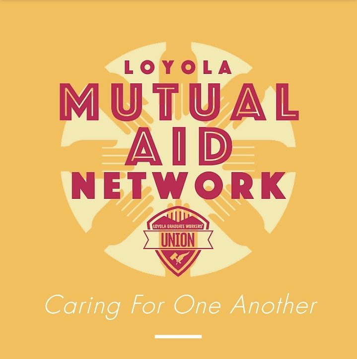 Are you a #LoyolaChicago graduate student?  Consider joining the Loyola Mutual Aid Network, grads supporting grads.  #CalledAsOne #OnwardLU #Ramblers   https://t.co/agcFRgcKBq https://t.co/9kOwIdkq1S