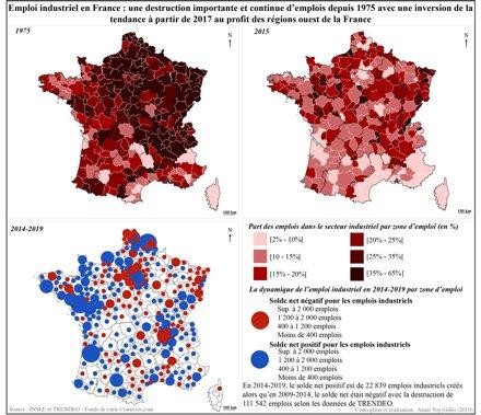 Cartes commentées de l'évolution de l'emploi industriel en France de 1975 à 2019 Dr A. VOY-GILLIS sur @diploweb  https://t.co/bPmsTPF9HA Pour mieux saisir les dynamiques et défis.  https://t.co/bPmsTPF9HA @a_voygillis @IFGeopolitique @universitereims  @AphgO @APHGMP @AphgLp https://t.co/ZFizeEI9QV