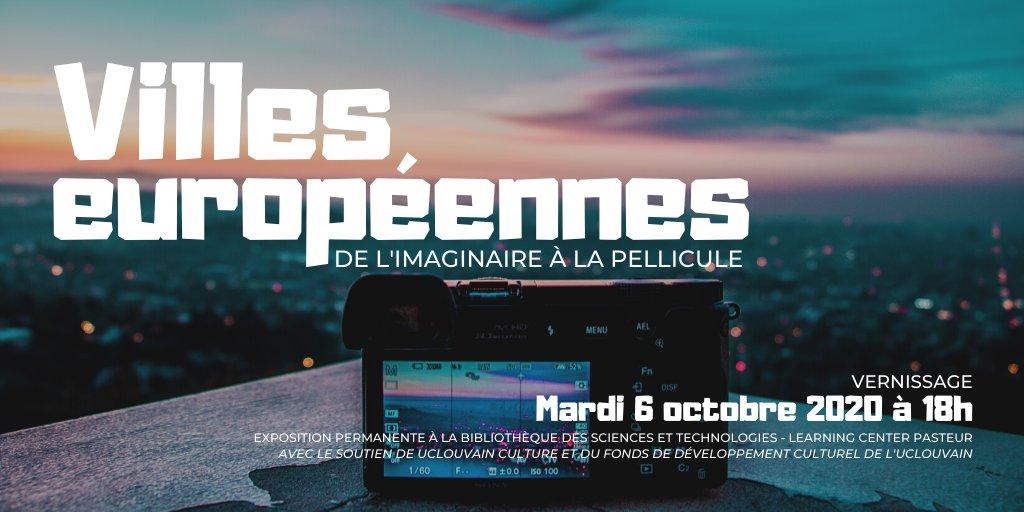 Save the date ! Mardi 06-oct. 18h @UCLouvainBST . Vernissage de l'expo permanente des photos de villes européennes Erasmus primées lors du concours organisé par BST LC Pasteur. Découvrez nos talentueux voyageurs et photographes @UCLouvain_be https://t.co/GTr4OQ2Gjc
