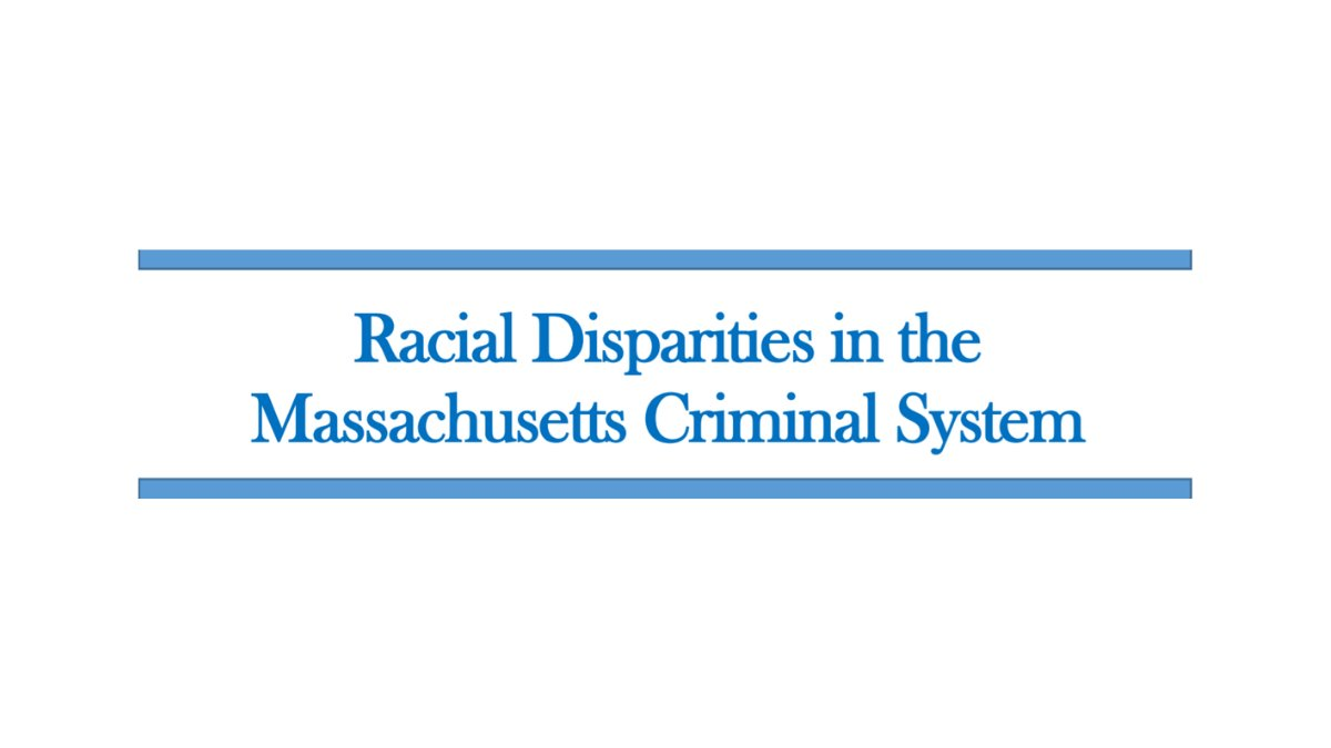Today we release a report exploring the persistent racial disparities in the Massachusetts criminal system:  https://t.co/aKyYriEmda. Here are some of our key findings: https://t.co/pBPPsHMuXx