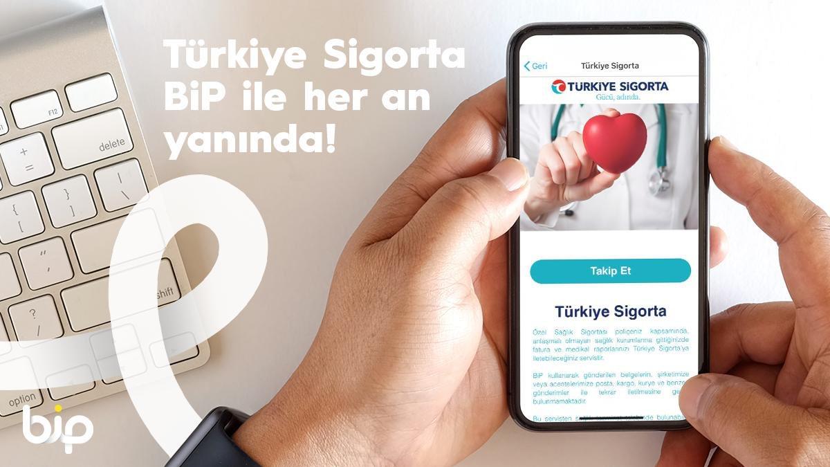 Türkiye Sigorta'nın #GücüAdında. BiP ile her an yanında! 👉🏻https://t.co/lWaG0LLdyo https://t.co/mpqPqCal6m