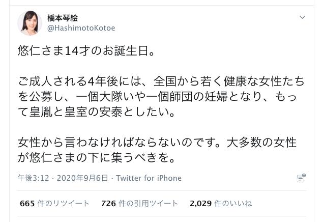 琴絵 wiki 橋本