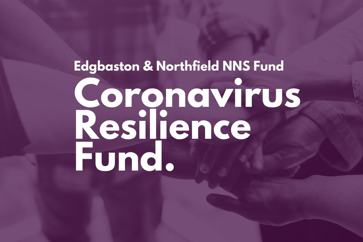 We are delighted to announce that we have been awarded £10,000 funding from Edgbaston & Northfield NNS Coronavirus Resilience Fund from @HoECF this will enable us to deliver a 12 month project to carers aged 50 and over within Northfield and Edgbaston.  #carer #mentalhealth https://t.co/ecdZKP2wAX