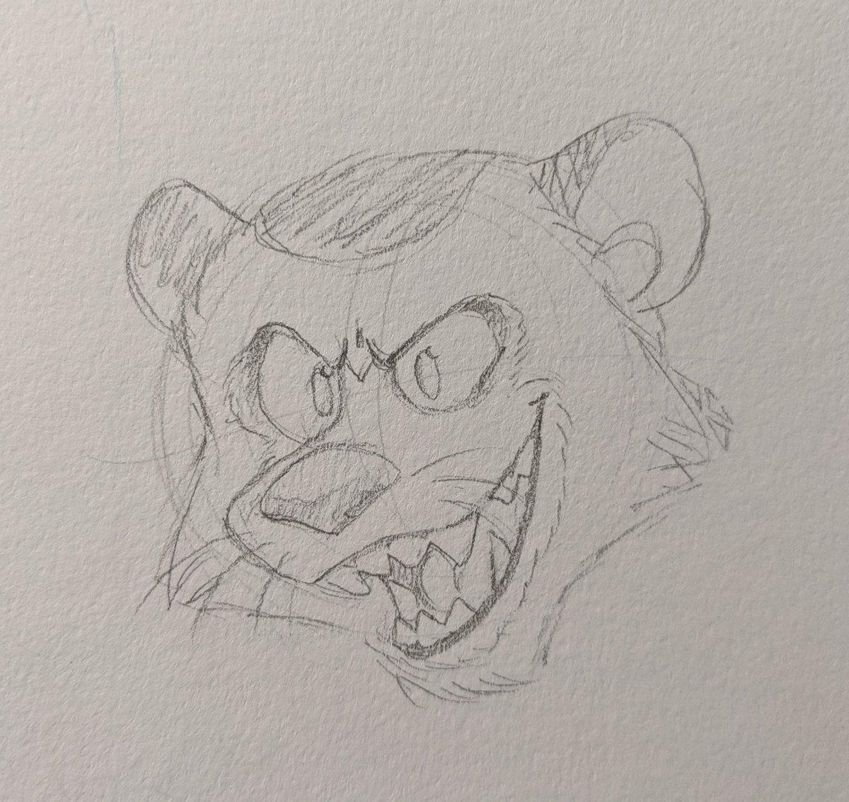 I absolutely ADORE drawing this feral man #allhailkingjulien #ahkj #ahkjpancho https://t.co/Y7oz9sK39h