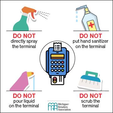 A few tips for proper credit card terminal cleaning: https://t.co/24zFdn4Sgz https://t.co/hw3JrCLFZz
