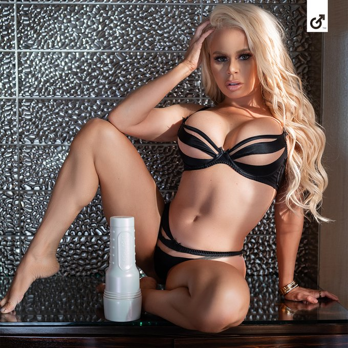 2020 is heating up! It's fiery new Fleshlight Girl, @NikkiDelano! Get her exclusive Fuego and Fantastica