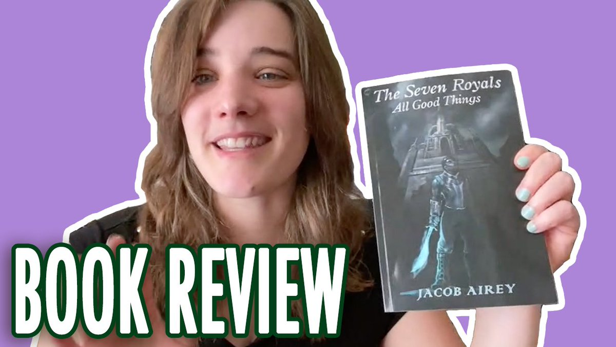 TOMORROW: I read @realJacobAireys novel The Seven Royals: All Good Things and was completely blown away! Pick up your copy today at the link in the description 📚 Subscribe so you dont miss it 👉 YouTube.com/user/WarriorWo…
