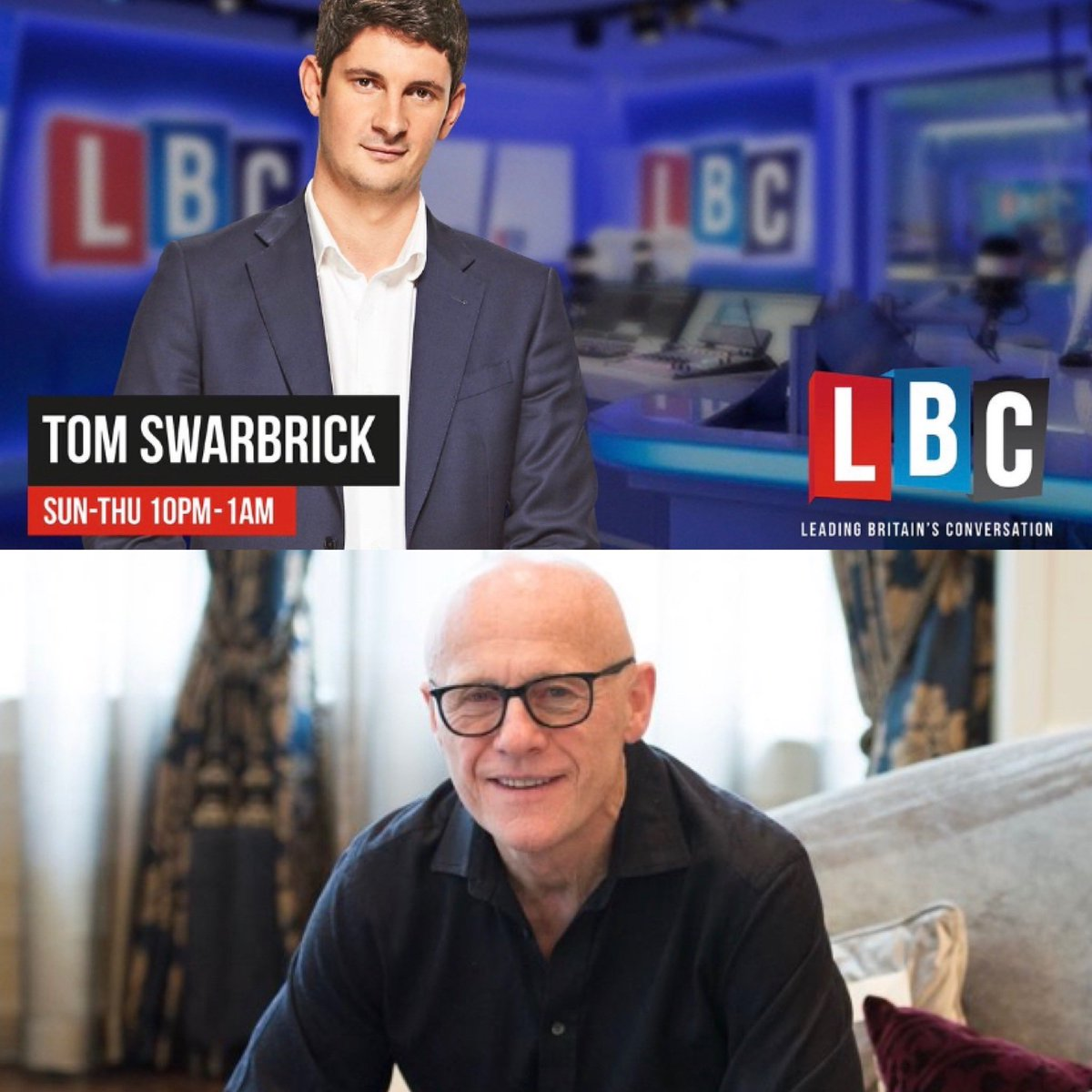 Tune into @LBC tonight at 10.30pm when @johncaudwell will talk to @TomSwarbrick1 about the new #ruleofsix and other #Covid19UK measures, #Brexit and the state of the economy in the wake of the virus  #thecangroup #canpr #johncaudwell #CaudwellPandemicRecovery #CPR📈 #lbc